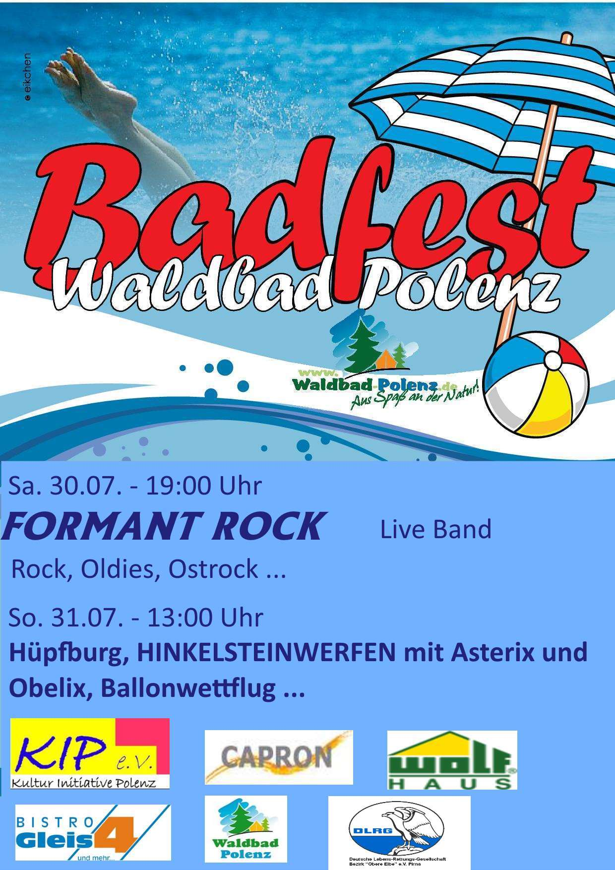 FORMANT - Rock, Pop, Oldies, Ostrock live